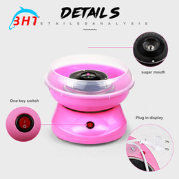 Wholesale Hot Selling Wonderful gift Mini Candy Floss Machine portable Electric DIY cotton candy maker Sweet cotton candy sugar machine
