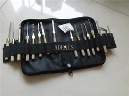 Wholesale Auto tool dimple pick set Auto locksmith tools Dimple Hand Pick Set for car locks H232