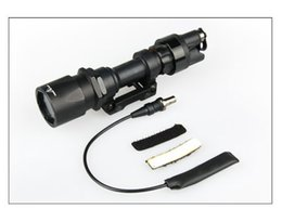 Marking M951 LED White Light Tactical Flashlight With Remote Pressure Pad night Torch Black Sand