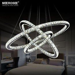 Wholesale LED Crystal Pendant Light Fixture Modern Diamond Crystal Hanging Lamp for Living room Hotel Project Guaranteed