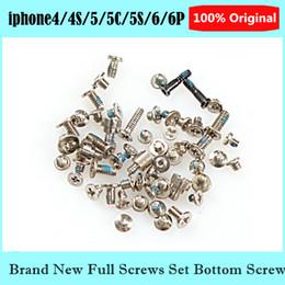 """Full Screws Set For Apple iPhone 6 4.7"""" plus 5.5"""" iphone 4 4 iphone 5 5s 5c Screw Replacement Parts"""