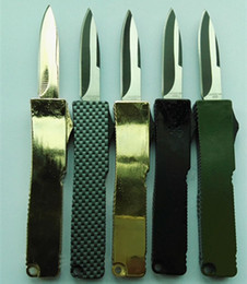 Wholesale Highly recommended Portable delicate knife aluminum oxide T6 camping gift knife