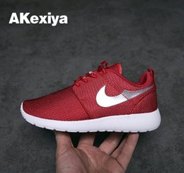 Wholesale Cheap Brand kids Roshe Run Running Shoes For baby Women Men Classical Lightweight London Olympic Athletic Outdoor Sneakers big Size