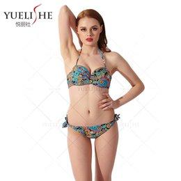 Wholesale swimwear for women Yue Li agency new sexy swimsuit floral print spot trade on behalf of swimsuit
