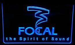 LS154-b Focal the Spirit of Sound Neon Light Sign