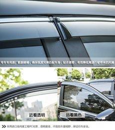 For 2014 2015 Nissan X-trail X Trail Xtrail Rogue T32 Window Visor Vent Shades Sun Rain Deflector Guard Awnings Auto Accessories
