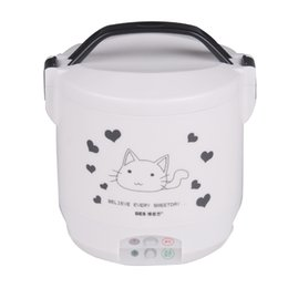 Portable 1.2L integrated Mini electric rice cooker cooking tools 110V USA plug with yogurt box C01005