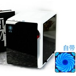 Wholesale ICE Beatles Mini computer case With Side Panel Window Artistic Peripherals for E sports players