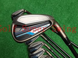 Brand New Golf Clubs Irons SpeedBlade Golf Irons Set 4-9PAS Dynamic Gold Steel Shafts DHL Free Shipping