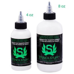 Wholesale New Pro Tattoo Stencils oz Transfer Application Solution Gel Stuff Soap Transfer Solution Stencil Staff oz Kit