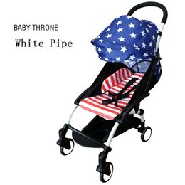Wholesale Fashion Baby Strollers Europe Style Light Weight New Baby Folding Comfortable Stroller Carriage For Travel Girl Boy Baby Purple Strollers