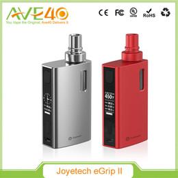 Wholesale Original Joyetech eGrip II VT Kit W eGrip mah Battery TFTA Tank Technology Upgradeable Firmware Version With ml ml