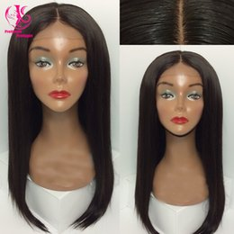 Silk Straight Natural Black wig Free Shipping New Long Synthetic Lace Front Wig Glueless Heat Resistant Wigs with middle part