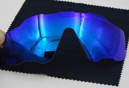 2017 lentes polarizadas Gafas de sol de la marca de fábrica Nuevos colores de la llegada 7 1: 1 Jawbreaker de la marca de fábrica Gafas de sol Repaling Lenses De calidad superior FULL Red Green Blue Clear polarized Lens lentes polarizadas en oferta