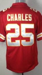 Wholesale Men s Game Jersey Alex Smith Jamaal Charles Eric Berry Justin Houston Red White Jerseys