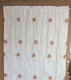 Wholesale Product best selling embroidered birds curtain