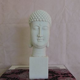 Wholesale Buddha statue Antique modern Chinese statue stone sculpture Creative Crafts Tathagata Buddha Big Buddha head statue