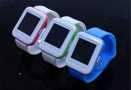 Promotion apple iphone montres intelligentes U8S (U8 amélioré) U Smart Watch Montre Bluetooth Wrist Watch Phone pour iPhone Samsung Galaxy HTC Android téléphones intelligents