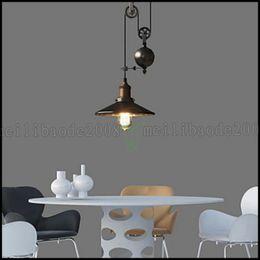 Wholesale Pendant Lights Rustic Lodge Vintage Retro Country Kitchen Hallway Garage Metal LLWA139