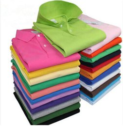 Wholesale 2016 Summer crocodil Men Polos Solid Shirt Men and Women Polos Shirts Business Sports Fashion Korean Slim Clothing casual shirts