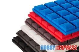 Wholesale New Bundle Hemisphere Grid Adhesive Acoustic Panel Soundproof Foam x20x5cm OR x50x5cm KK1056