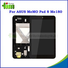 Wholesale Original quot LCD For ASUS MeMO Pad ME180 ME180A Tablet PC LCD Display Touch Screen Digitizer with Frame Assembly Tim4