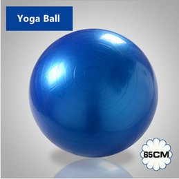 Wholesale cm Exercise Ball amp Air Pump for Yoga Fitness Pilates Balance Gym colors Exercise Fitness Aerobic Ball