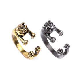 2016 New Arrival of Animal Series Rings,Lovely Dog Shaped Metal Rings in Jewelry Resizeable for ALL Cute ZJ-0903591