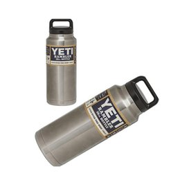 Wholesale Yeti Rambler Stainless Steel Bottle oz Coolers oz Thermos Authentic Tumbler Cup Cars Beer