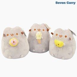Wholesale 3style Cat Kawaii Brinquedos Pusheen Cookie amp Icecream Stuffed amp Plush Animals Baby Toys quot cm CS1B1