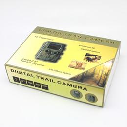 Vidéos hd ir gratuits en plein air en Ligne-DHL libre de la faune HT-002AA caméra de chasse à l'épreuve de la pluie Caméra de piste scouting infrarouge HD numérique caméra infrarouge enregistreur vidéo 12MP chasse en plein air