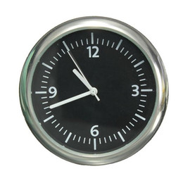 Wholesale 2016 New Mechanics Car clock Digital Pointer for v Auto time WHITE