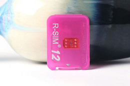 Newest unlock For iphone5s 6 6s 6splus 7 7p 8 8p 8x IOS10 ios11 Unlock Card RSIM12 CDMA GSM 3G 4G SPRINT add Rpatch carrier DHL free ship