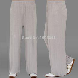 Wholesale Kung Fu Pants Yoga Gym Tai Chi Men Women Martial Arts Sweat Unisex Trousers Harem Sports