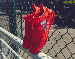 Wholesale Cheap Adidas Originals X Purechaos FG AG Soccer Shoes Men Soccer Cleats Colors Football Shoes Hot Sale Soccer Boots