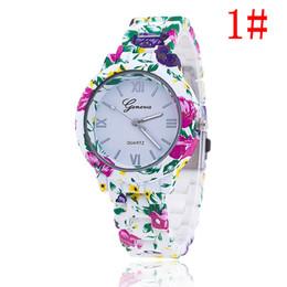 Wholesale 2016 Christmas gift Fashion Floral Flower GENEVA Watch GARDEN BEAUTY BRACELET WATCH Women Wristwatch Luxury Quartz Watch