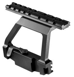 Hot Sell Tactical AK Side Mount QD Quick Release Aluminum AK74U Side Mount for AK47 Free Shipping