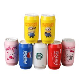 Wholesale 304 Stainless Steel Vacuum Coffee Cup ml Flask Best Gift Cans Thermos Coca Cola Pepsi Mug Milk Tea Water Colors