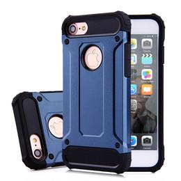 Protection téléphone cellulaire en Ligne-Pour iPhone 7 plus 6 6S, plus le cas hybride gravité tpu couverture d'or pour samsung Note7 S7 bord iphone7 cas de couverture des téléphones cellulaires de protection