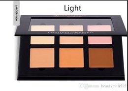 Wholesale 100pcs Anastasia Contour Cream Kit color face contouring highlighting palette basic foundation BB primer makeup free DHL ship