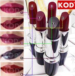 Wholesale High Quality Brand KOD Matte Lipstick Moisturizer Waterproof Nude lip stick lipgloss batom D7