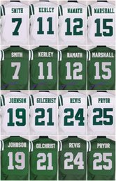 Wholesale 2016 New York football jersey Jets Soccer rugby jerseys Marshall Decker Revis Mangold Green White freeshipping