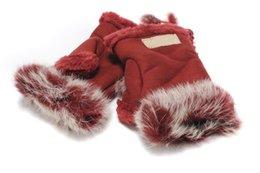 Wholesale Supply Brand New Beatiful Winter Fashion Gloves Warm Wool Hand Wrist Fingerless Gloves Ten Colors Optional