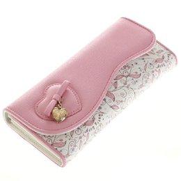 Wholesale W22 Designer Famous Brand Betty Boop Women Wallet Fashion Women White Pink Cute Long Wallets Female Purses Clutch Ladies Wallet