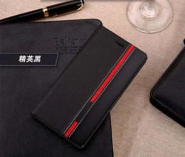 Promotion mélanger le cas de la mode Fashion Business TOP Qualité Support pour Flip Etui en cuir de lenovo Pour Lenovo S650 Mobile Case Cover Téléphone Couleur mixte 2015