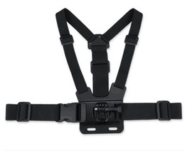 Wholesale S5Q Black Adjustment Elastic Body Chest Strap Mount Belt for GoPro HD Hero gopro chest strap