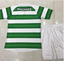 Wholesale top Thai Best quality Glasgow CELTICIZERINGS man Jersey T shirt Home and Away New maillot de Football Shirt