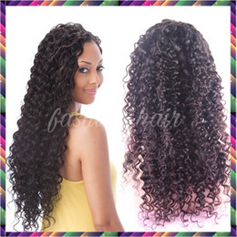 Cheap 150% Density Long Curly Full Lace Wig Virgin Lace Front Wig Curly Human Hair Wigs For Black Women