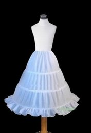 Wholesale Little Girls Petticoat Dress - 2016 Children Petticoat for Little Girls Pageant Dresses Kids Underskirt Ball Gowns
