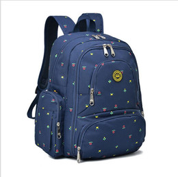 New large-capacity Mom backpack 16 Pockets Waterproof Oxford Fabric Travel backpack Diaper Bag with Changing Pad 3 Pieces Set